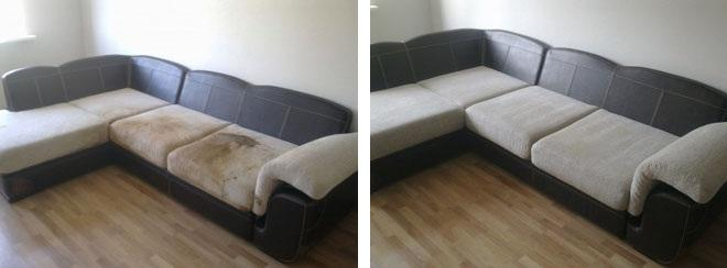 Химчистка диванов на дому: заказать чистку мягкой мебели в компании Profclean