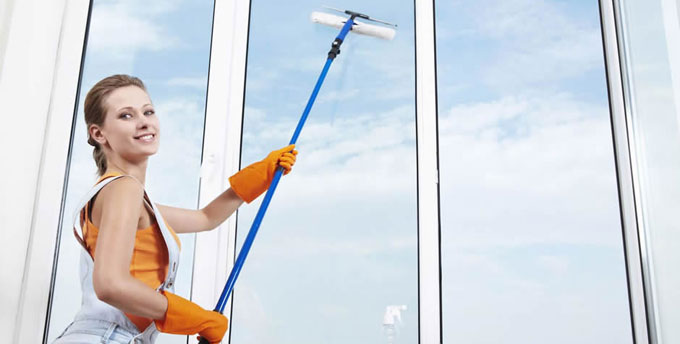 ціни на миття вікон в квартирі від компанії Profclean