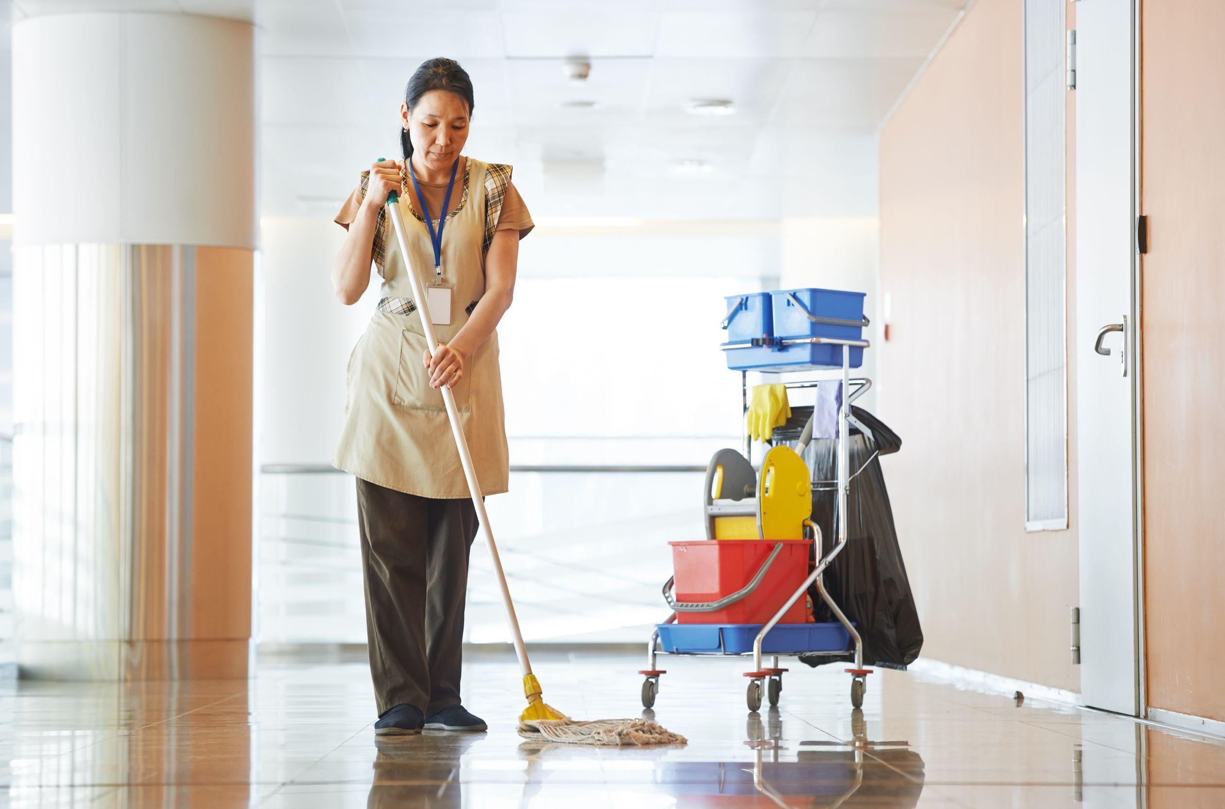Генеральная уборка офиса: секреты профессионалов