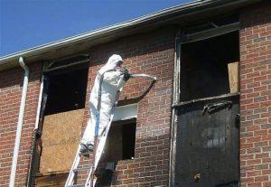 Прибирання приміщень після пожежі