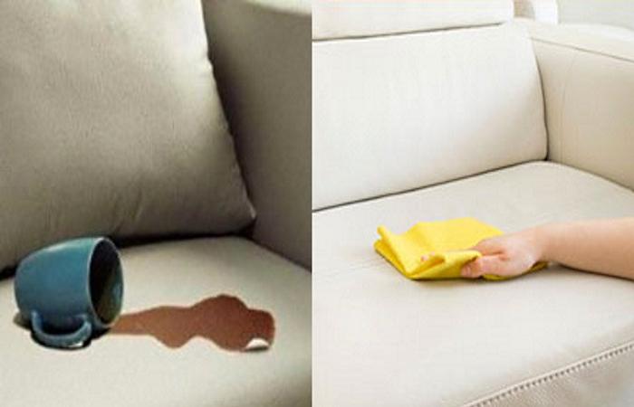 почистить тканевую обивку дивана
